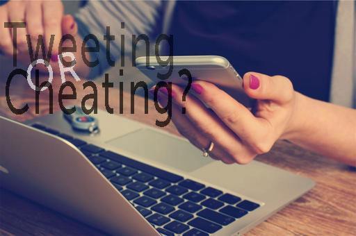 online affairs tweeting cheating