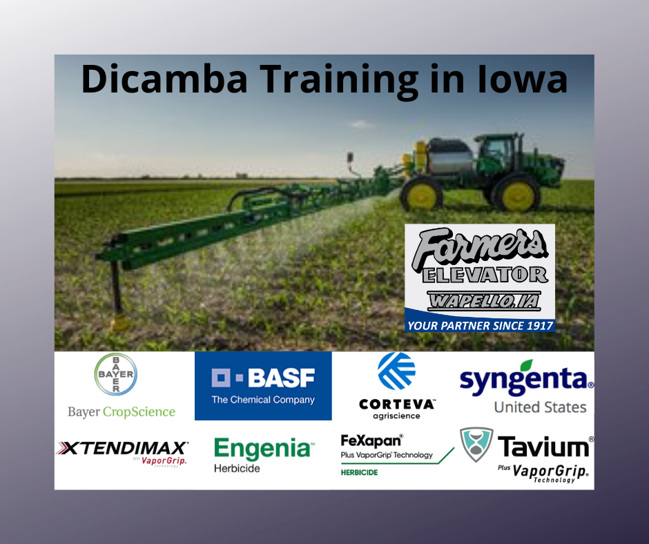 Dicamba Training in Iowa