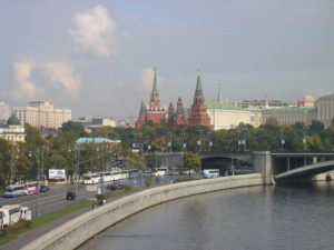 Moscow city. (Wikimedia Commons)