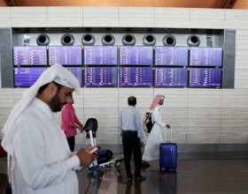 Hamad International Airport in Doha (KARIM JAAFAR/AFP/Getty Images)