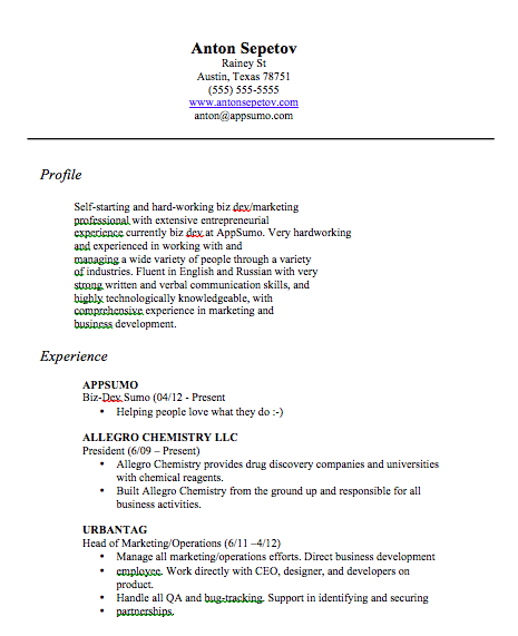 sample resume for stay at home mom returning to work