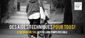 Des Aides Techniques pour tous ! : Etre bien chez soi, le plus longtemps possible