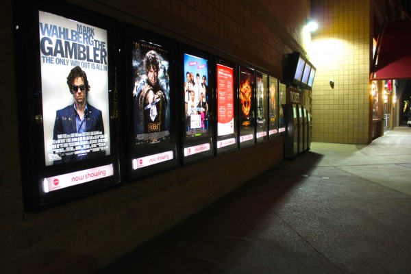 Movie theater poster frames