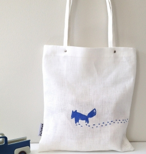 Lone Wolf Tote