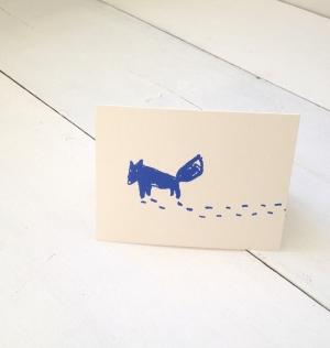 Lone Wolf Notecard
