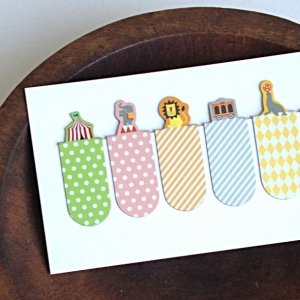 Bookmarks - Circus Animals