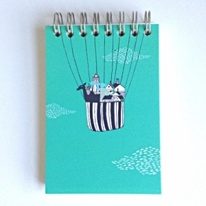 Jotter - Dark Green Balloon