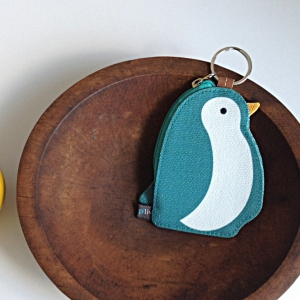 Key Ring Holder - Penguin