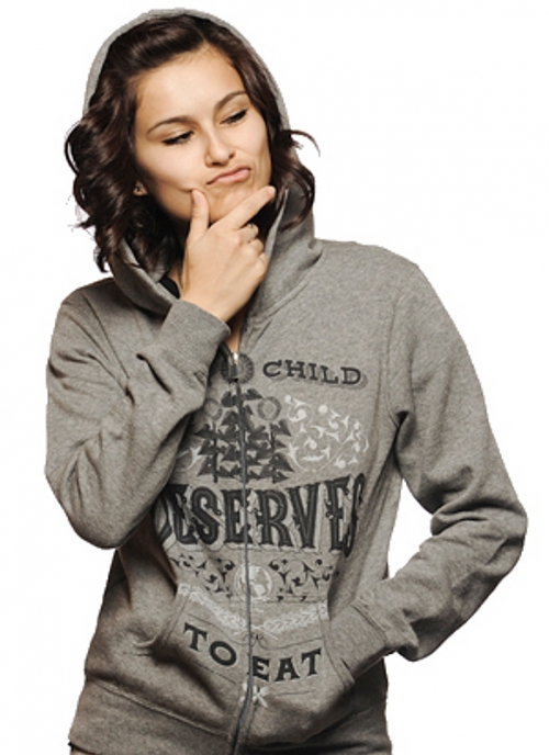 Women's Gray Hoodie