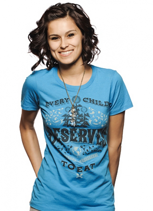 Women's Blue Tee