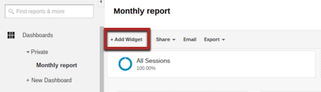 google-analytics-dashboard-add-widget