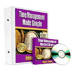 Time Management Made Simple, training kit by Brian Tracy