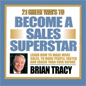 audio sales course CD cover, Become a Sales Superstar