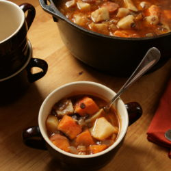 Sweet Potato and Celeriac Stew