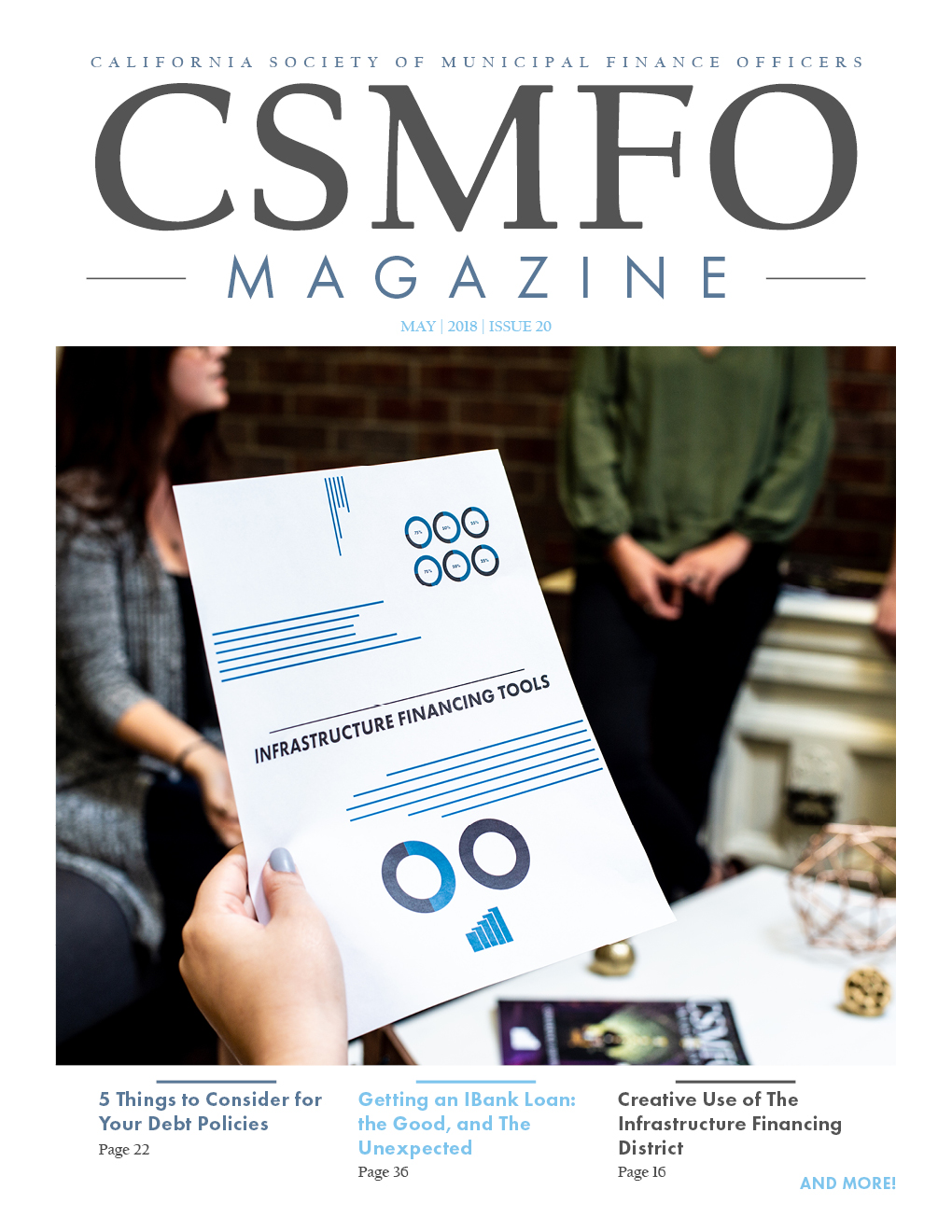 CSMFO Magazine – May 2018