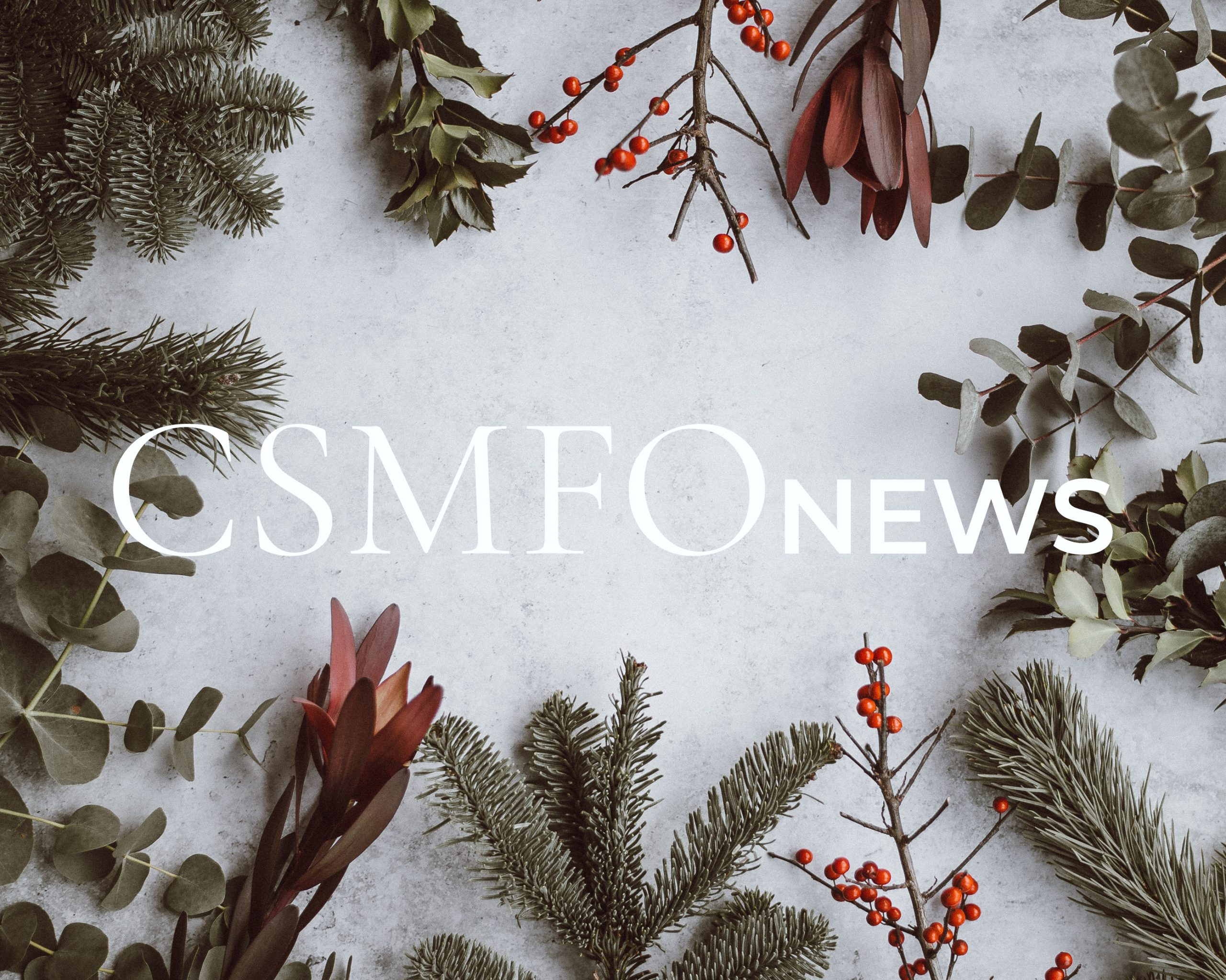 Editor's Alley | December 2019 | 15 Days Of CSMFO News