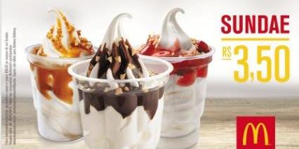 cupom sundae