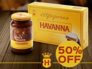 Cupom de desconto Havanna Combo Buenos Aires