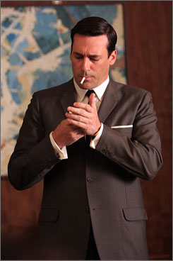 don-draper-brown-suit-smoking