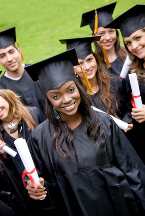 group of graduation students