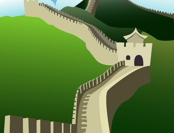 Great wall impressive
