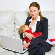 breast feeding working mother