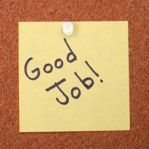 Employee praise