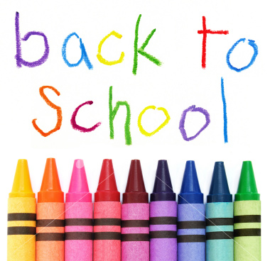 back-to-school crayons