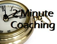 2 minute coaching logo