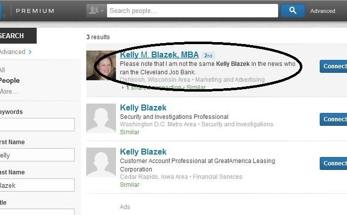 Not Kelly Blazek