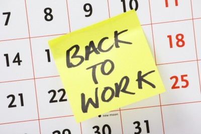 Returning employee back to work
