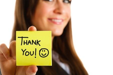 Gratitude thank you thanks