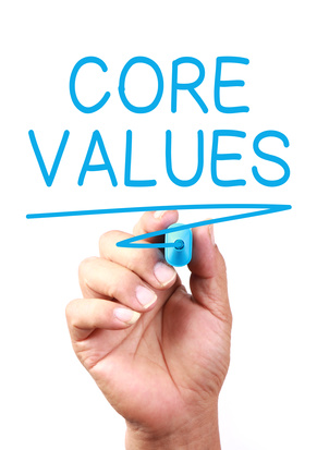 how can an organization know if they are benefitting from their core values Core values are what support the vision, shape the culture and reflect what a company values they are the essence of the company's identity – the principles, beliefs or philosophy of values.