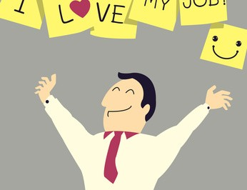 Happy happiness love job