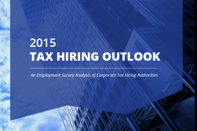 2015 Tax Hiring report cover