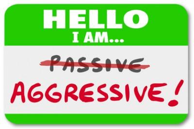 Hello I am Aggressive Vs Passive Action or Inaction Attitude