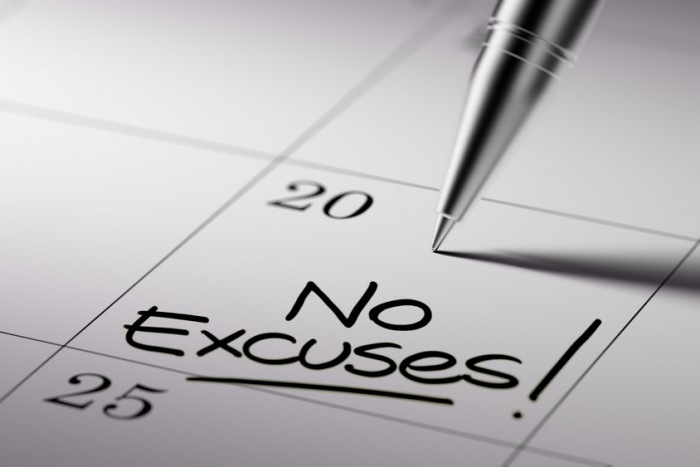 no excuses personal productivity