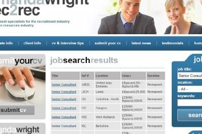 Amanda Wright job page