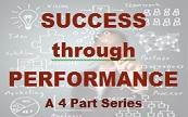 Performance driven logo