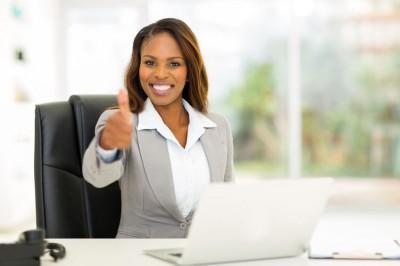 Tenure businesswoman