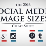 The 2016 Social Media Image Size Cheat Sheet [Infographic]