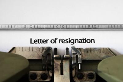 3Resignation resign quit