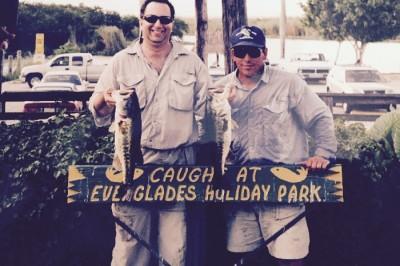 From the left: Joe Ankus, Paul Gator