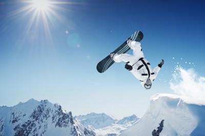 snowboarder agility