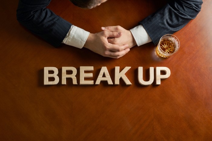 Business break up