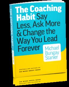 Coaching Habit Book cover