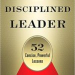 Disciplined leader book cover