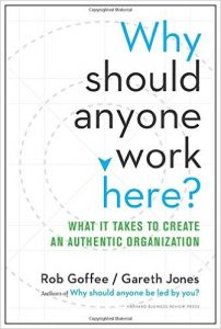 Why should anyone work here book cover