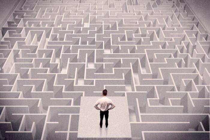 maze legal confusion concept