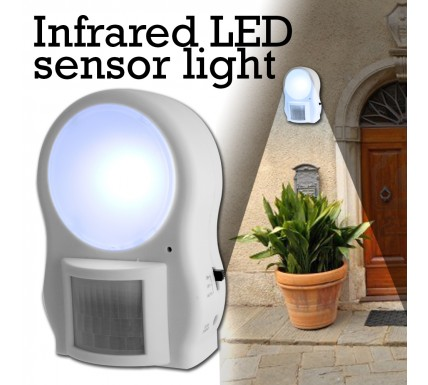 LED Infrared Sensor Light